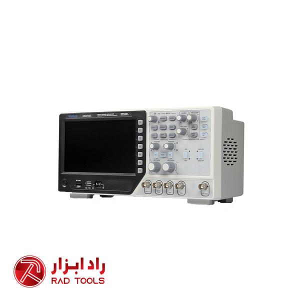 قیمت اسیلوسکوپ 100 مگاهرتز 2 کانال دیجیتال حافظه دار