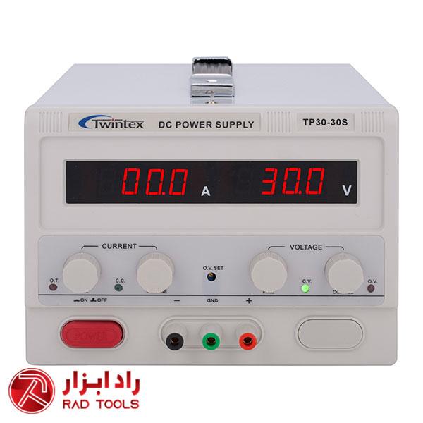 منبع تغذیه مدل TWINTEX TP30-30S