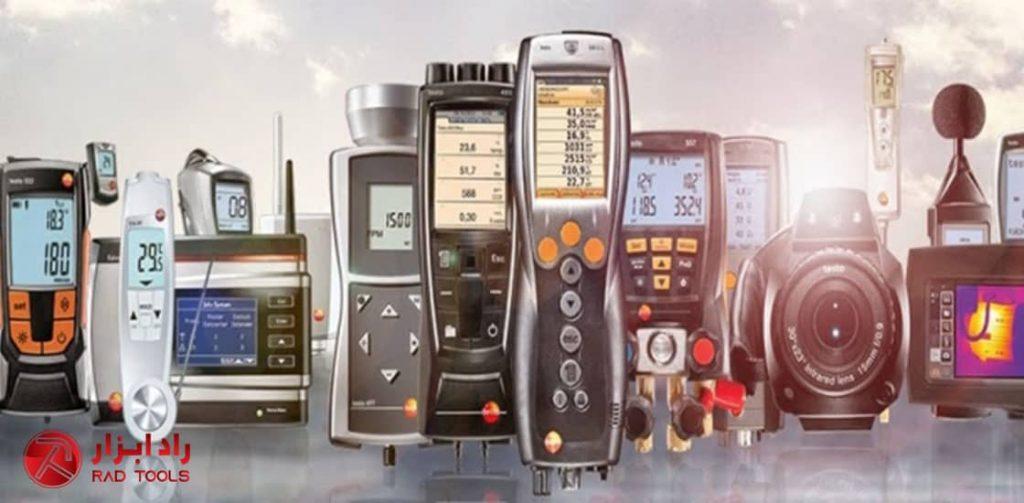 معرفی انواع تجهیزات اندازه گیری